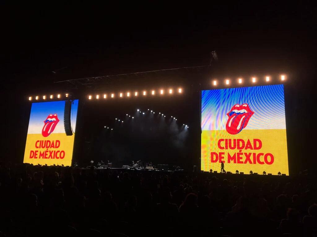 The Rolling Stones 17 marzo 2016 Foro Sol Covash